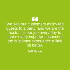 Customer Quote by Jeff Besoz