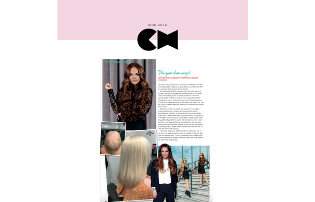 Remi Cachet press coverage in Creative Head Magazine as paid editorial profile