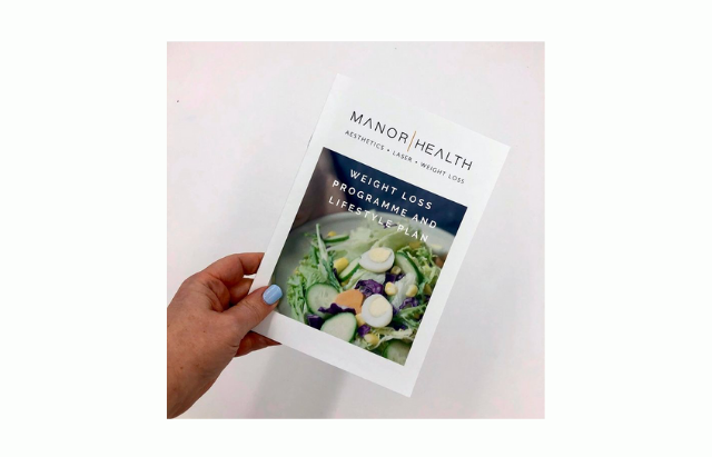 Manor Health Weight Loss Booklet re-design