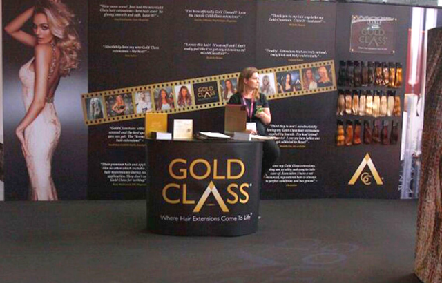 Gold Class Exhibition at Pro Hair Live London