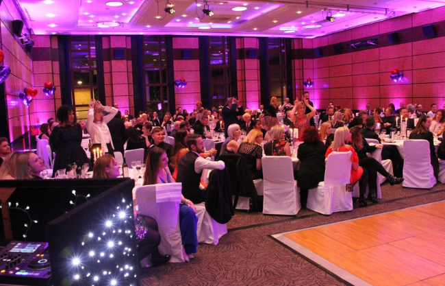 The Hairdressers Charity Ball Heads and Tails Game