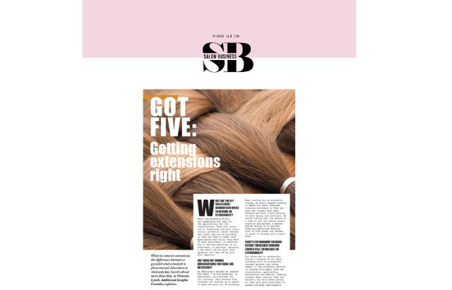 Remi Cachet press coverage in Salon Business Magazine feature