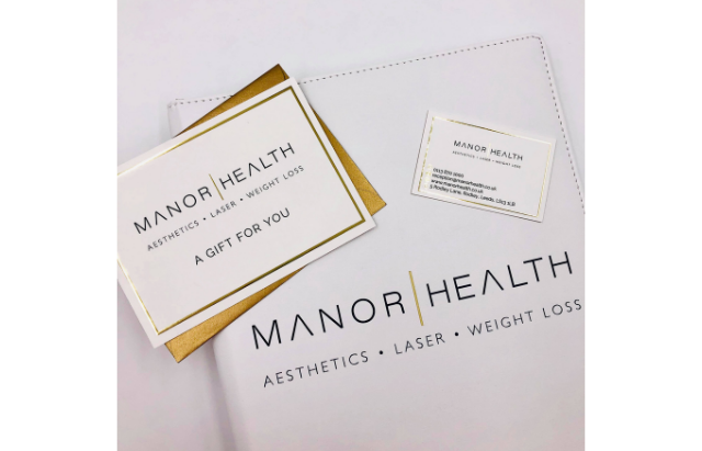Manor Health Branding